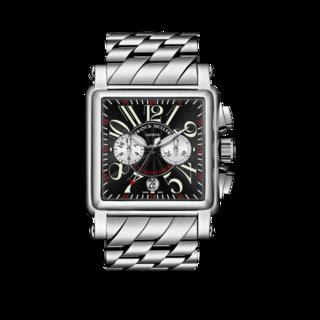 Franck Muller Armbanduhr Conquistador Cortez Chronograph 10000-H-CC-O-AC-BLACK