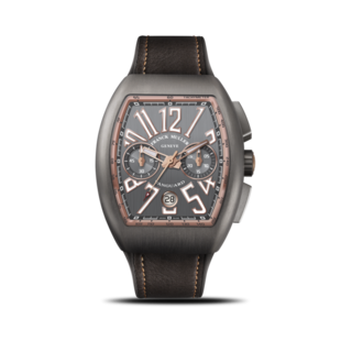 Franck Muller Herrenuhr Vanguard Automatik Chronograph 44 x 53,7 x 15,1mm V-45-CC-DT-BR-(5N)-TT-ALL