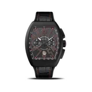 Franck Muller Herrenuhr Vanguard Automatik Chronograph 44 x 53,7 x 15,1mm V-45-CC-DT-NR-BR-(5N)-TT-ALL