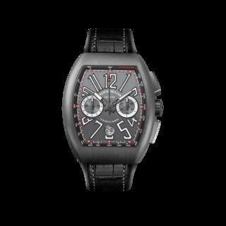 Franck Muller Herrenuhr Vanguard Automatik Chronograph V-45-CC-DT-BR-(NR)-TT-BL-ALLBK