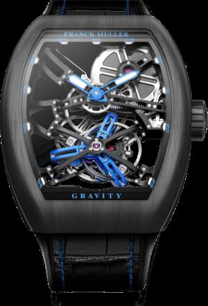 Herrenuhr Franck Muller Gravity mit Alligatorenleder-Armband