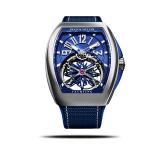 Franck Muller Herrenuhr Vanguard Gravity Yachting V-45-T-GR-CS-YACHT-(BL)-AC-BLUE-ALLBLUE