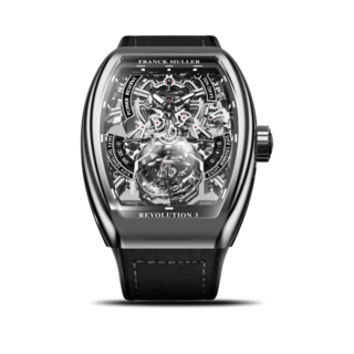 Franck Muller Herrenuhr Vanguard Tourbillon Revolution 3 Skeleton V-50-REV-3-PR-SQT-(NR)-OG