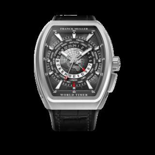 Franck Muller Herrenuhr Vanguard World Timer V-45-HU-ACBR-AC-(NR)