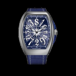 Franck Muller Damenuhr Vanguard Yachting Crazy Hours V-32-CH-YACHT-(BL)-Blue-Dial-AC