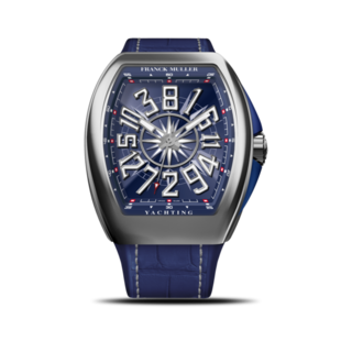 Franck Muller Herrenuhr Vanguard Yachting Crazy Hours V-45-CH-YACHT-(BL)-Blue-Dial-AC-ALLBLU