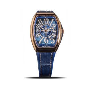 Franck Muller Armbanduhr Vanguard Yachting V-35-SC-AT-FO-YACHT-(BL)-5N-ALLBLUE