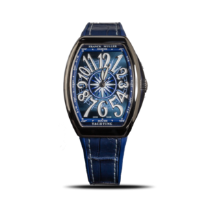 Franck Muller Armbanduhr Vanguard Yachting V-35-SC-AT-FO-YACHT-(BL)-OG-ALLBLUE
