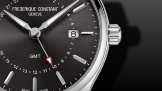 Frederique Constant Classics Quartz GMT 40mm