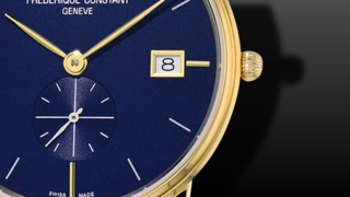 Frederique Constant Slimline Gents Small Seconds 37mm