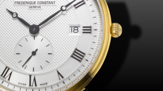 Frederique Constant Slimline Gents Small Seconds 39mm