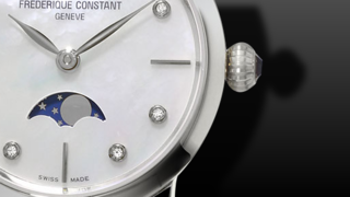 Frederique Constant Slimline Ladies Moonphase 30mm