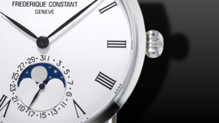 Frederique Constant Slimline Moonphase Manufacture	42mm