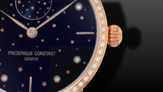 Frederique Constant Slimline Moonphase Stars Manufacture 38,8mm