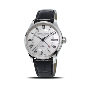 Frederique Constant Herrenuhr Classics Automatic GMT FC-350MC5B6