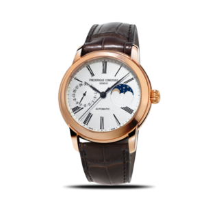 Frederique Constant Herrenuhr Classics Moonphase Manufacture FC-712MS4H4
