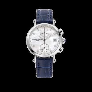 Frederique Constant Damenuhr Classics Quartz Chronograph Ladies FC-291MPWD2R6