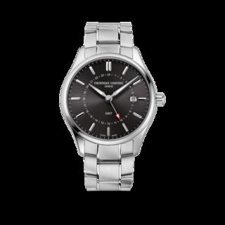 Frederique Constant Herrenuhr Classics Quartz GMT FC-252DGS5B6B