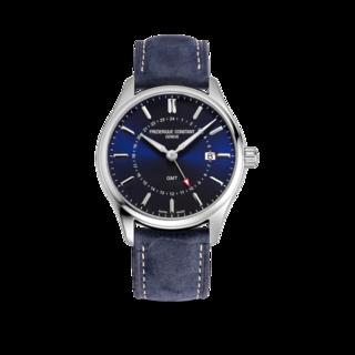 Frederique Constant Herrenuhr Classics Quartz GMT FC-252NS5B6
