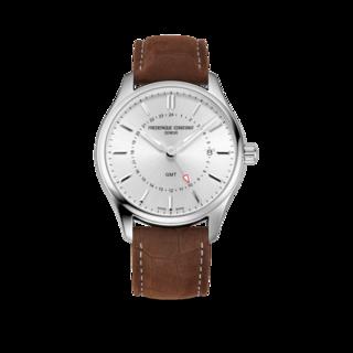 Frederique Constant Herrenuhr Classics Quartz GMT FC-252SS5B6