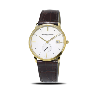 Frederique Constant Herrenuhr Slimline Gents Small Seconds 37mm FC-245V4S5