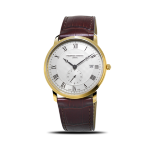 Frederique Constant Herrenuhr Slimline Gents Small Seconds FC-245M5S5
