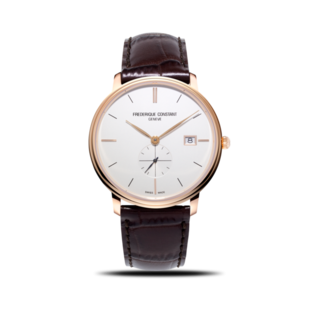 Frederique Constant Herrenuhr Slimline Gents Small Seconds FC-245V5S4