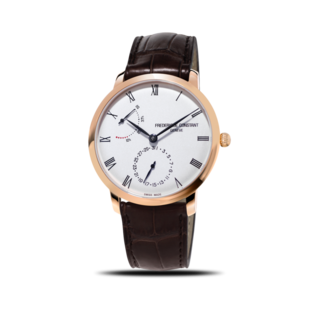 Frederique Constant Herrenuhr Slimline Power Reserve Manufacture 40mm FC-723WR3S4