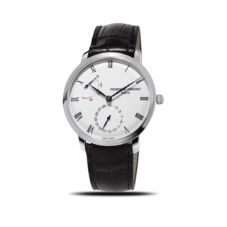 Frederique Constant Herrenuhr Slimline Power Reserve Manufacture 40mm FC-723WR3S6