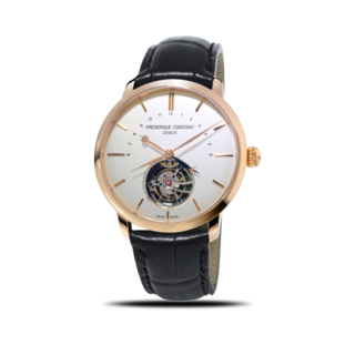 Frederique Constant Herrenuhr Slimline Tourbillon Manufacture 43mm, Limited Edition FC-980V4S9