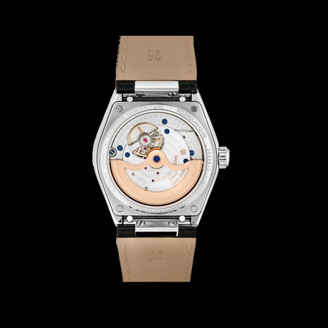 Herrenuhr Frederique Constant Highlife Perpetual Calendar Manufacture 41mm mit silberfarbenem Zifferblatt und Alligatorenleder-Armband bei Brogle