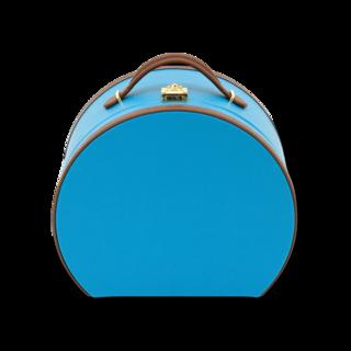 Friedrich Kosmetik-Schmuckkoffer Ascot - La lumière bleue/Braun 70021-509