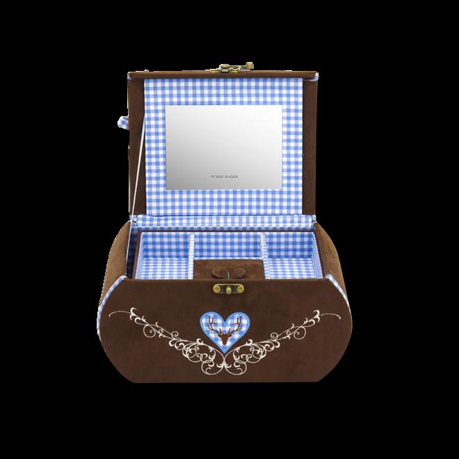Friedrich Schmuckkästchen Sissi - Blau aus Velour bei Brogle