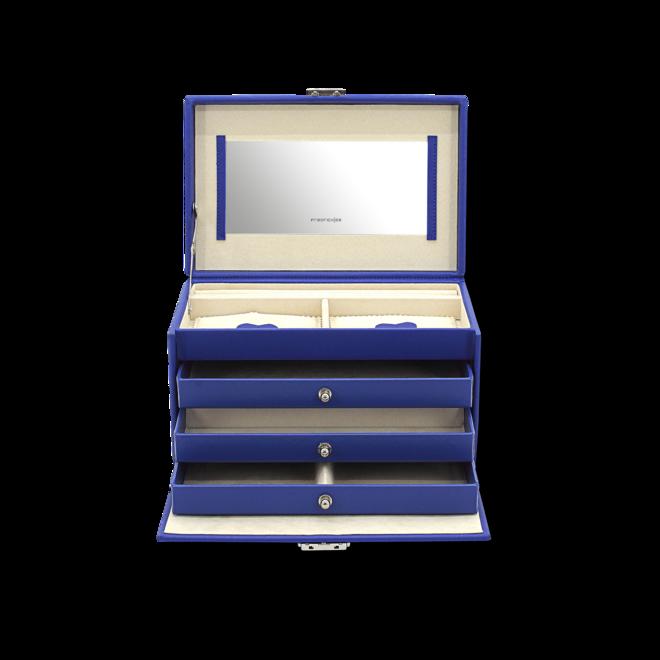 Friedrich Schmuckkoffer Jolie 2.0 - Königsblau aus Kunstleder bei Brogle