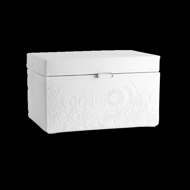 Friedrich Schmuckkoffer Mandala M - Weiß aus Feinsynthetik bei Brogle