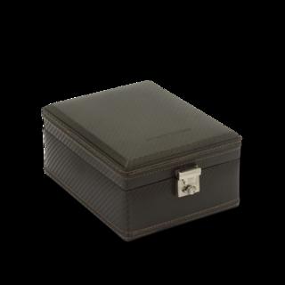 Friedrich Uhrenbox Carbon 4 - Dunkelbraun 70021-438