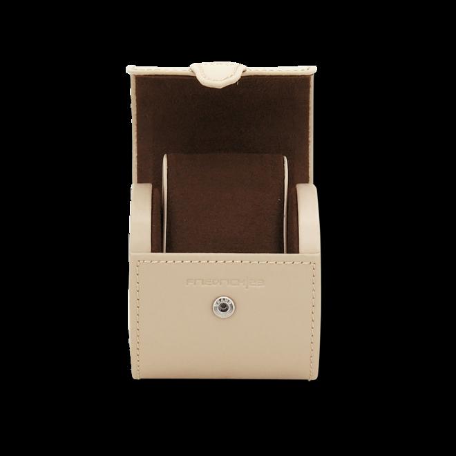 Friedrich Uhrenbox Cordoba 1 - Beige aus Kalbsleder bei Brogle