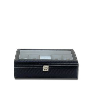 Friedrich Uhrenkoffer Carbon M - Dunkelblau 70021-538