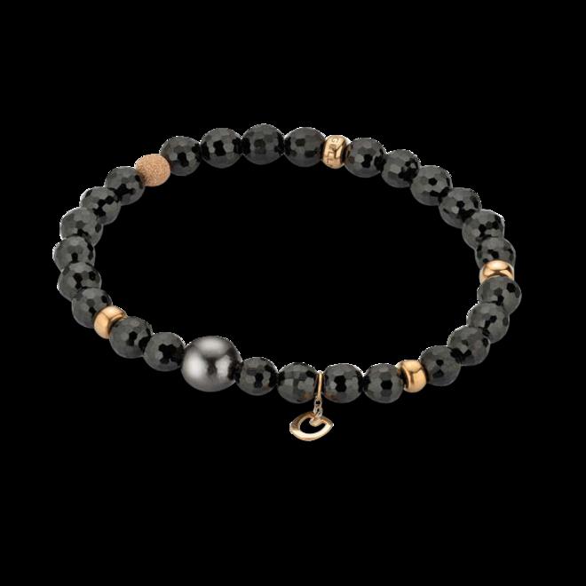 Armband Gellner Big Bang aus 750 Roségold mit Tahiti-Perle und mehreren Spinellen bei Brogle