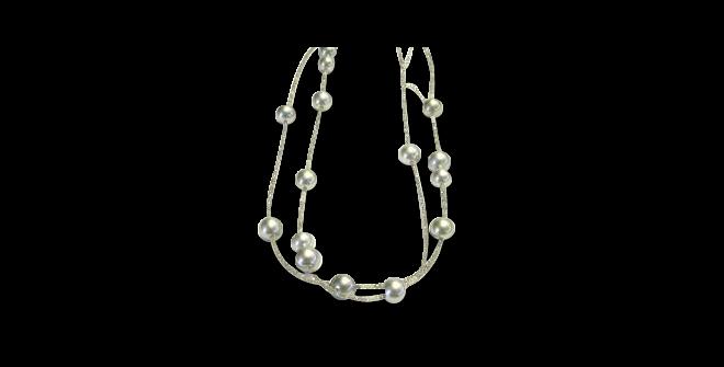Halskette Gellner Castaway aus 925 Sterlingsilber mit 15 Tahiti-Perlen und mehreren Diamanten (22 Karat) bei Brogle