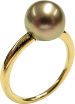 Ring Gellner Modern Classic aus 750 Roségold mit Tahiti-Perle