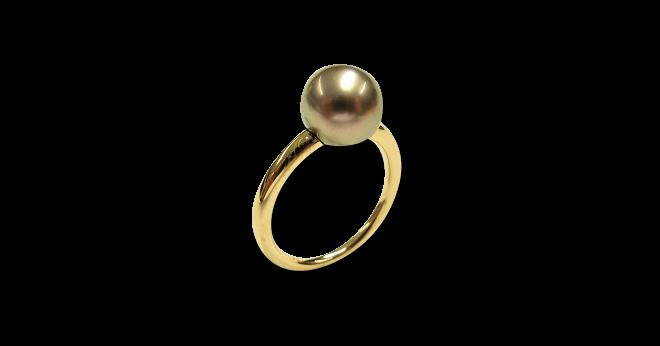 Ring Gellner Modern Classic aus 750 Roségold mit Tahiti-Perle bei Brogle