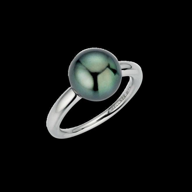 Ring Gellner Modern Classic aus 950 Platin mit Tahiti-Perle bei Brogle