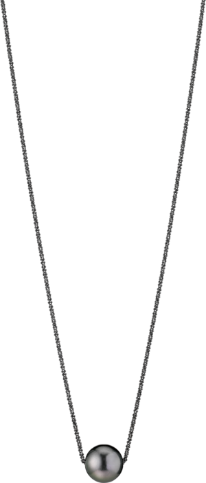 Halskette mit Anhänger Gellner Basic PS aus 925 Sterlingsilber mit Tahiti-Perle