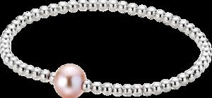 Armband Gellner Flex aus 925 Sterlingsilber mit Süßwasser-Perle