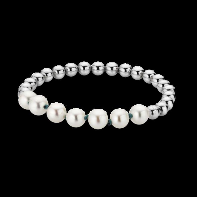 Armband Gellner Flex aus 925 Sterlingsilber mit 7 Süßwasser-Perlen bei Brogle