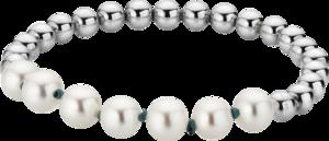 Armband Gellner Flex aus 925 Sterlingsilber mit 7 Süßwasser-Perlen