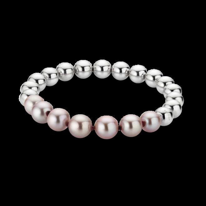 Armband Gellner Flex aus 925 weißes Silber mit 7 Süßwasser-Perlen bei Brogle