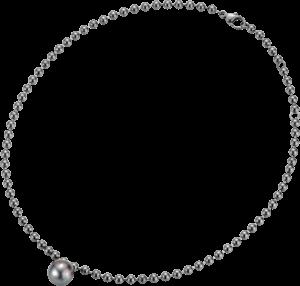 Halskette Gellner Flex aus 925 Sterlingsilber mit Tahiti-Perle