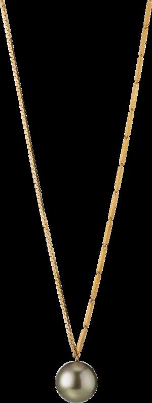 Halskette mit Anhänger Gellner Fuse aus 925 Sterlingsilber mit Tahiti-Perle